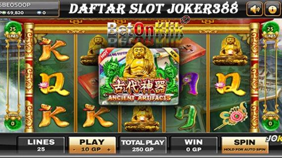 Daftar Slot Joker388 | Situs Judi Online | Slot Casino ...