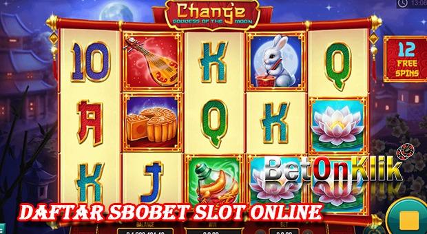 Daftar Sbobet Slot Online | Situs Judi Online Betonklik ...